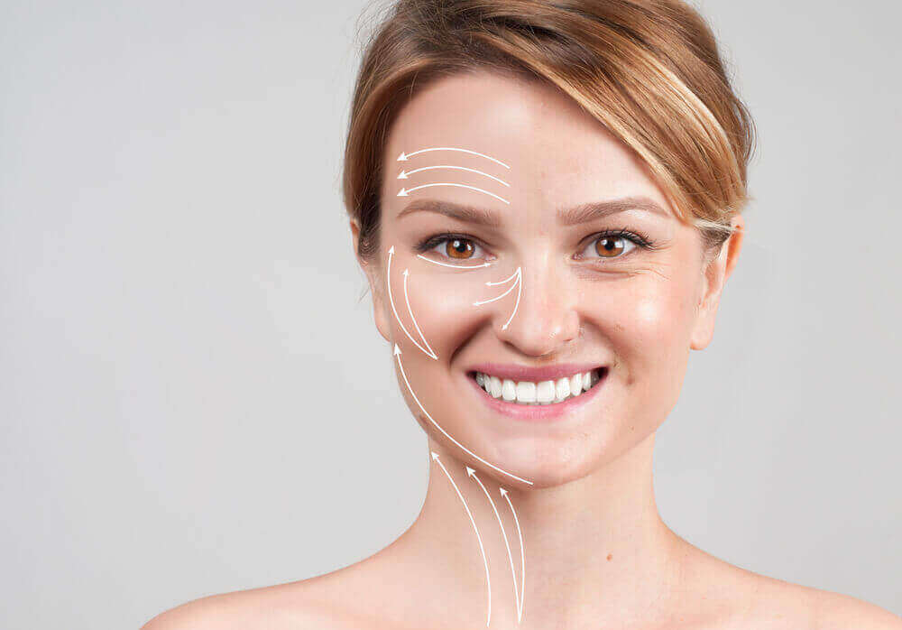 The effects of collagen on the skin.