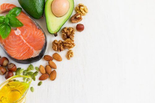 Foods with Omega 3 fatty acids.