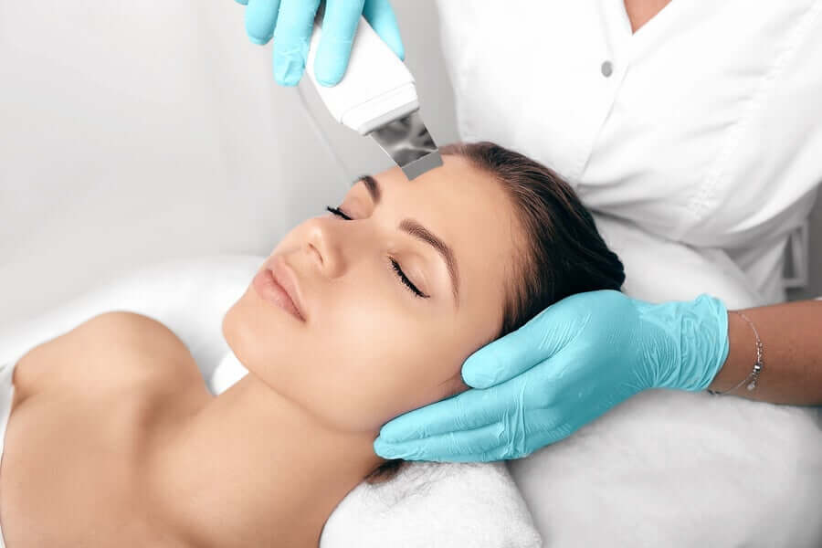 Laser treatment of hyperpigmentation.