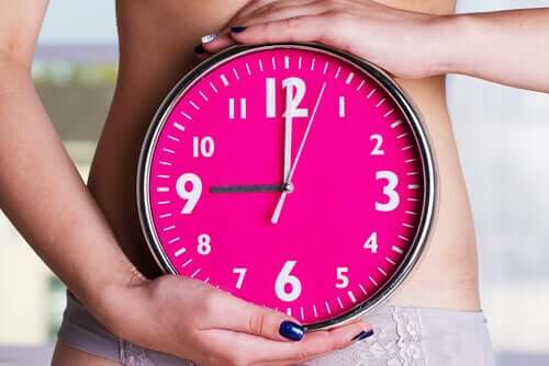 A woman's biological clock.