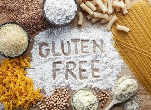 An array of gluten-free food.