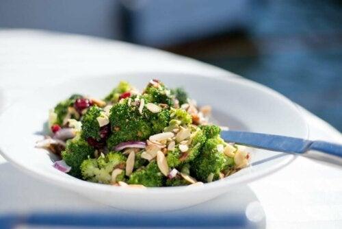 A broccoli salad.