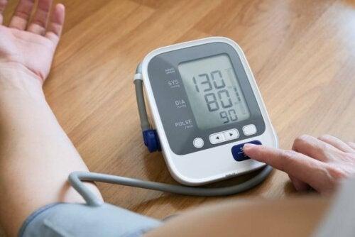 measuring arterial pressure melatonin benefits