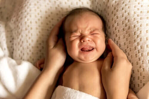 A newborn that won't stop crying.