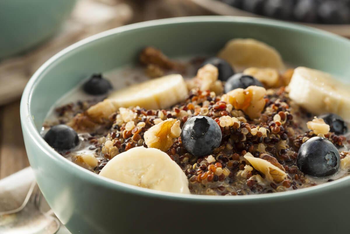 excess fiber in cereal?