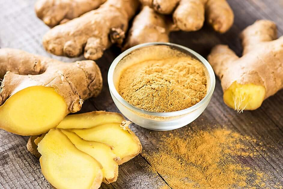 Ginger is a natural remedy for the digestive system