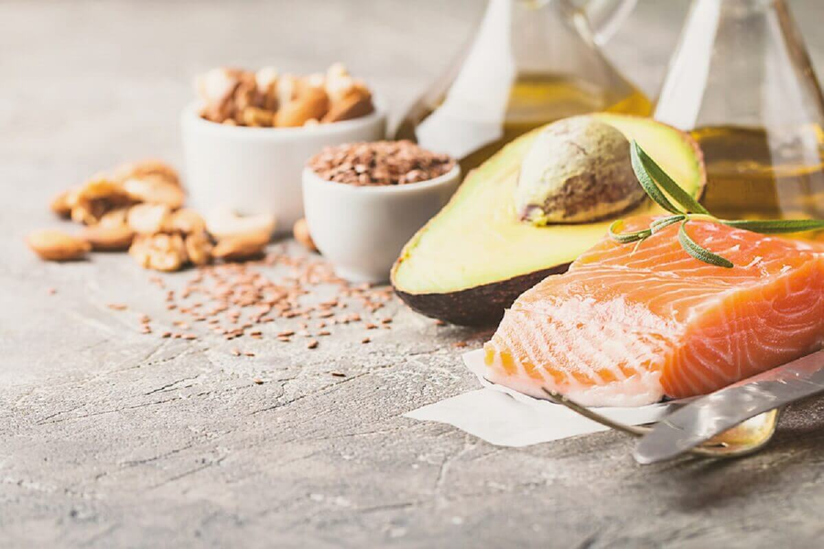 Food with omega-3.
