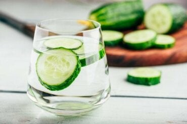 Cucumber Water is a Natural Diuretic