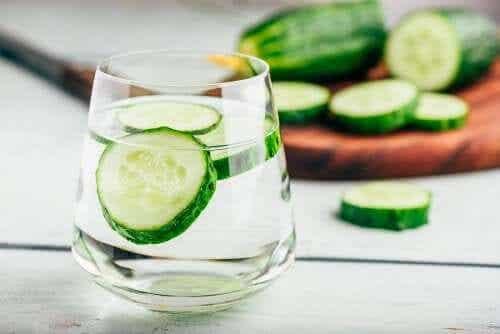Cucumber Water is a Natural Diuretic