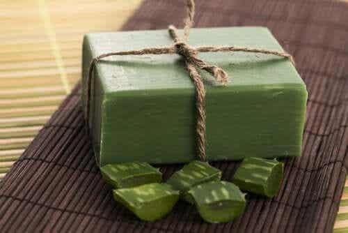 How to Make Lye-Free Aloe Vera Soap