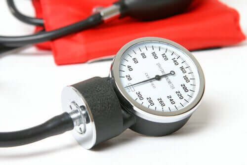 A medical sphygmomanometer.