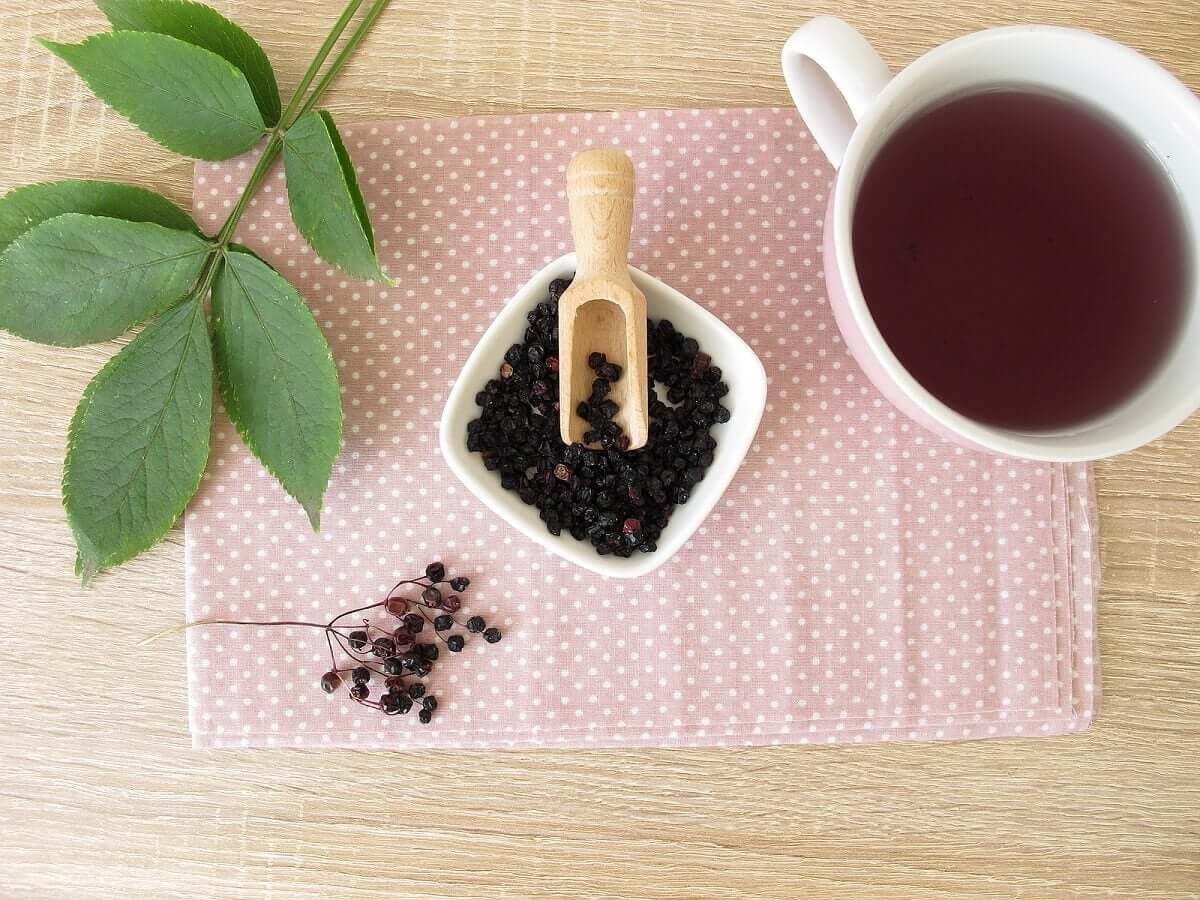 How to make your own elderberry syrup.
