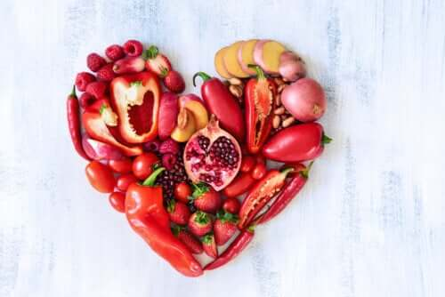 The Nutritional Value of Red Fruit and Vegetables