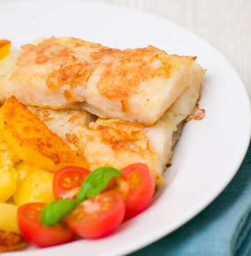 Recipe for Cod Au Gratin with Mayonnaise