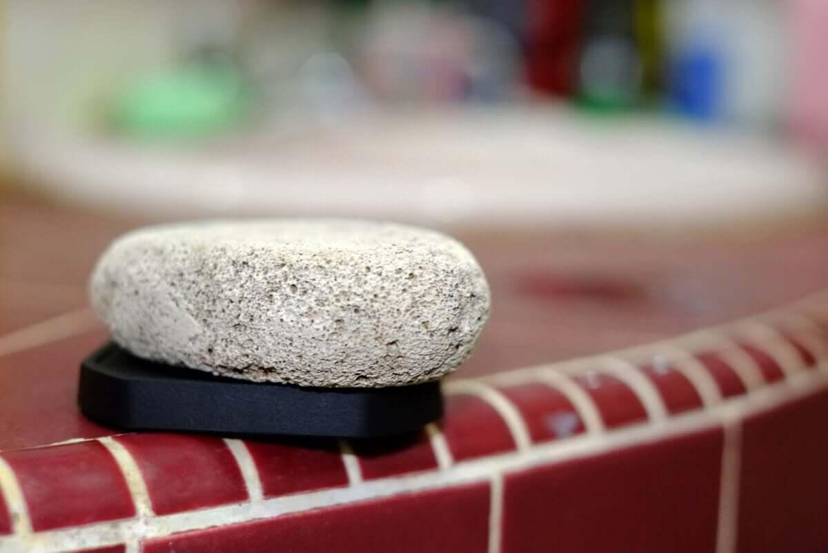 Pumice stone.