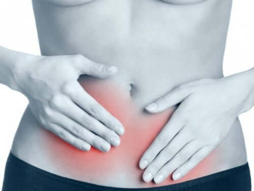 Abdominal strain can be caused by twisting the body abruptly.