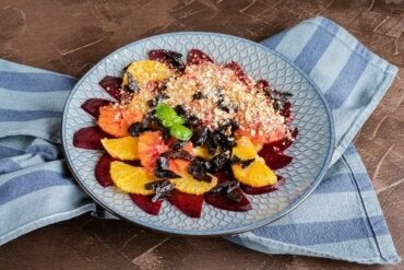 Fresh Citrus, Date, and Almond Salad