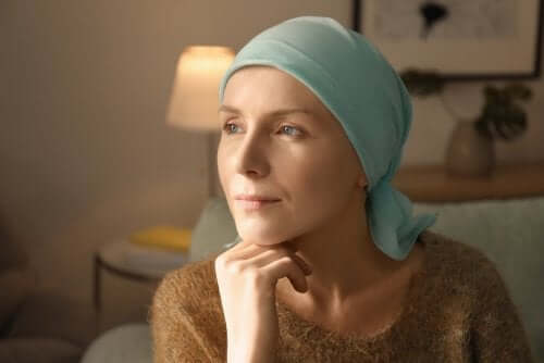 A breast cancer patient.