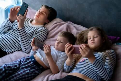 Excessive Exposure to Screens in Children