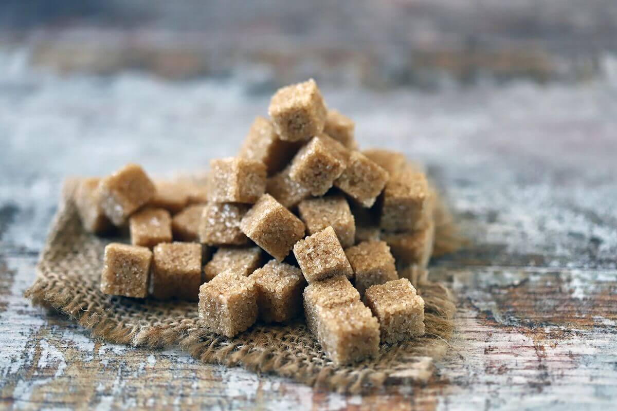 Muscovado sugar.
