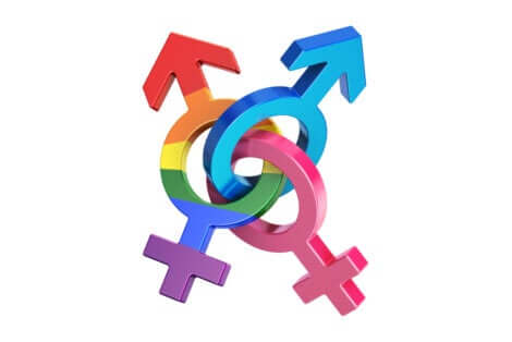 These are different gender symbols.