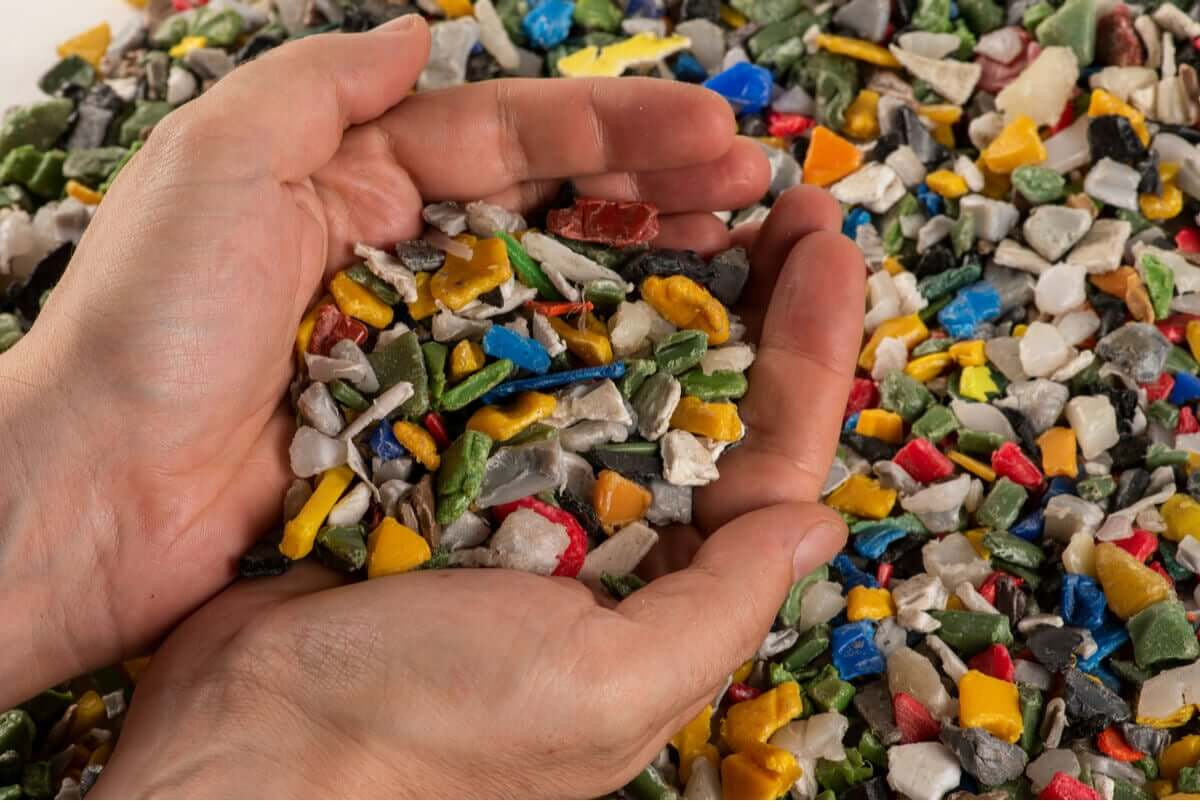 Instead of fully decomposing, plastic waste is converted to microplastics that damage the environment.