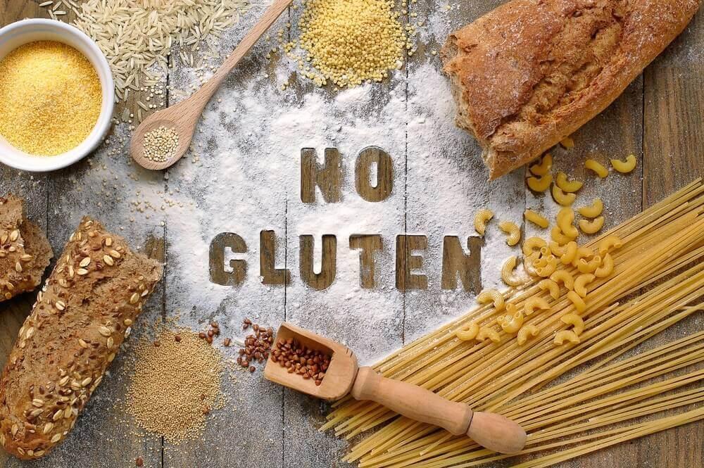 No gluten.