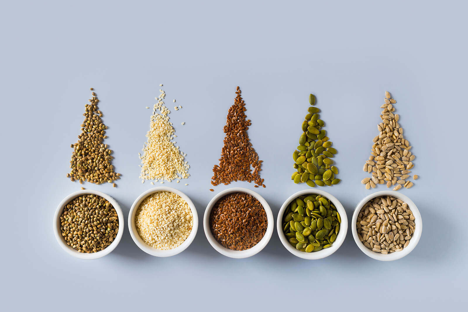 Eating seeds provides significant quantities of many important nutrients.