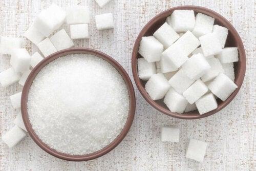 White sugar.