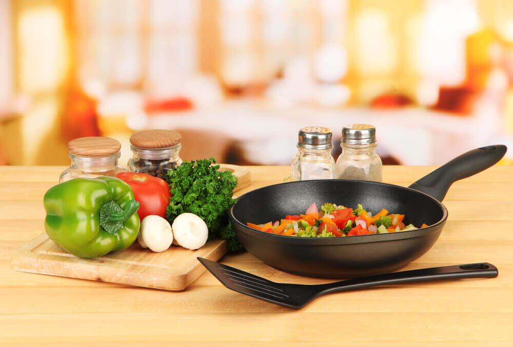 Ingredienser til et sundt måltid til forebyggelse af Alzheimers sygdom