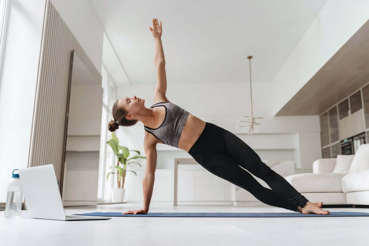 Side plank is one exercise that can keep your back healthy.