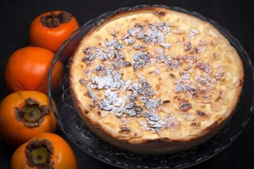 A Recipe for a Chocolate-Persimmon Custard Pie