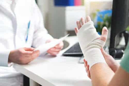 Degrees and Types of Sprains