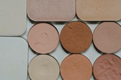 A makeup palette.