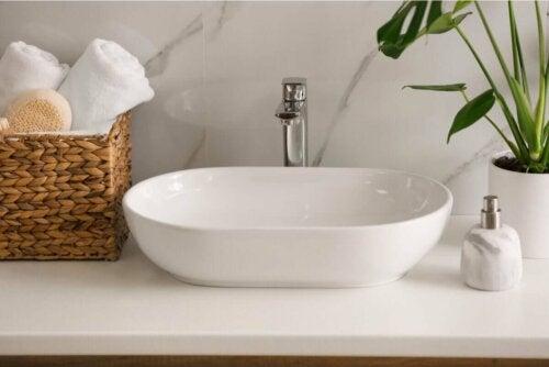 A modern sink.