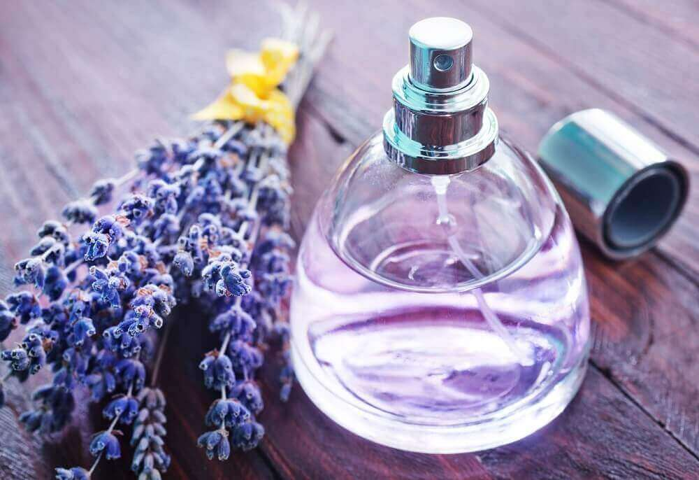 Organic lavender air freshener.