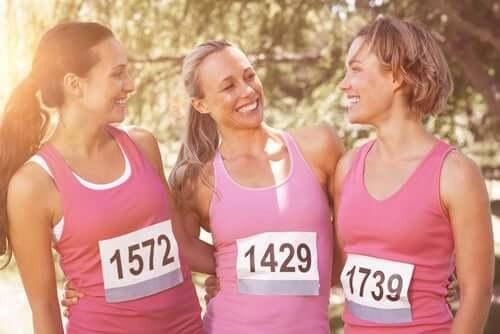Women in a race.