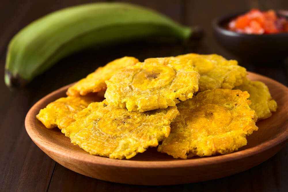 Fried plantain.
