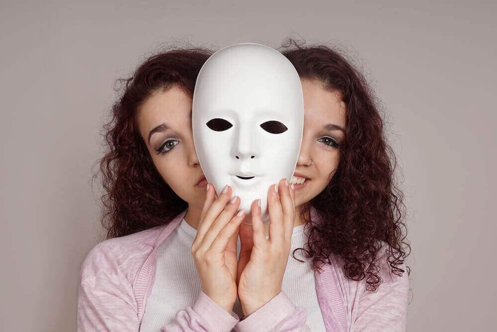 A bipolar woman