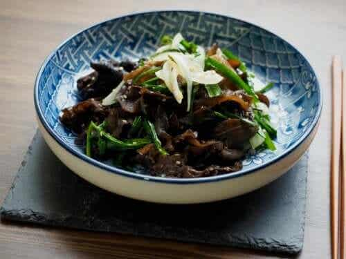 The Properties of Black Fungus and Its Applications