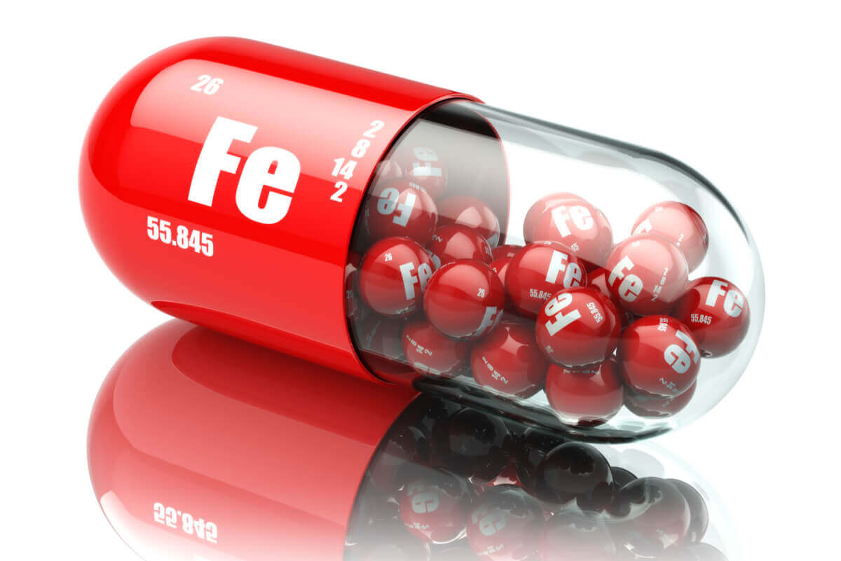 An iron pill.