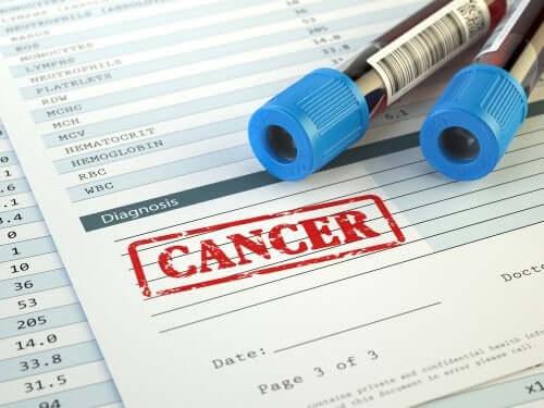 A cancer diagnosis.