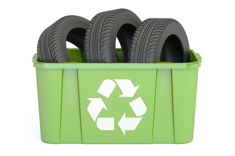 Tire recycling.