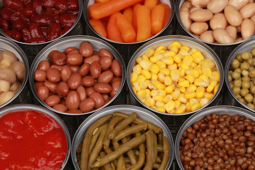 Processed foods.