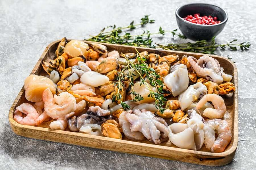 Πιάτο θαλασσινών