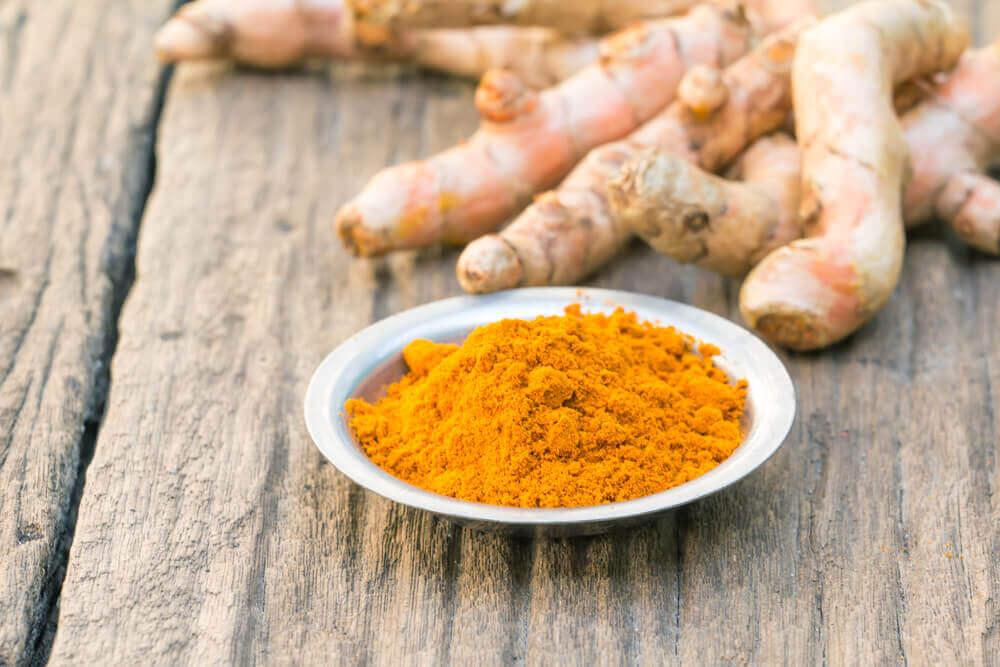 Lebensmittel gegen Lungenentzündung - Kurkuma