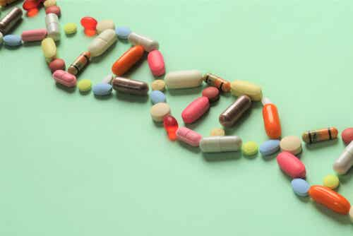 A chain of supplements.