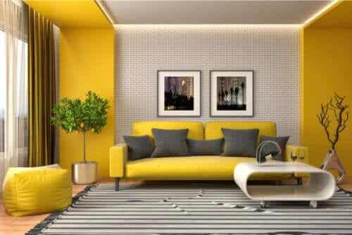 How to Decorate with the Color Yellow