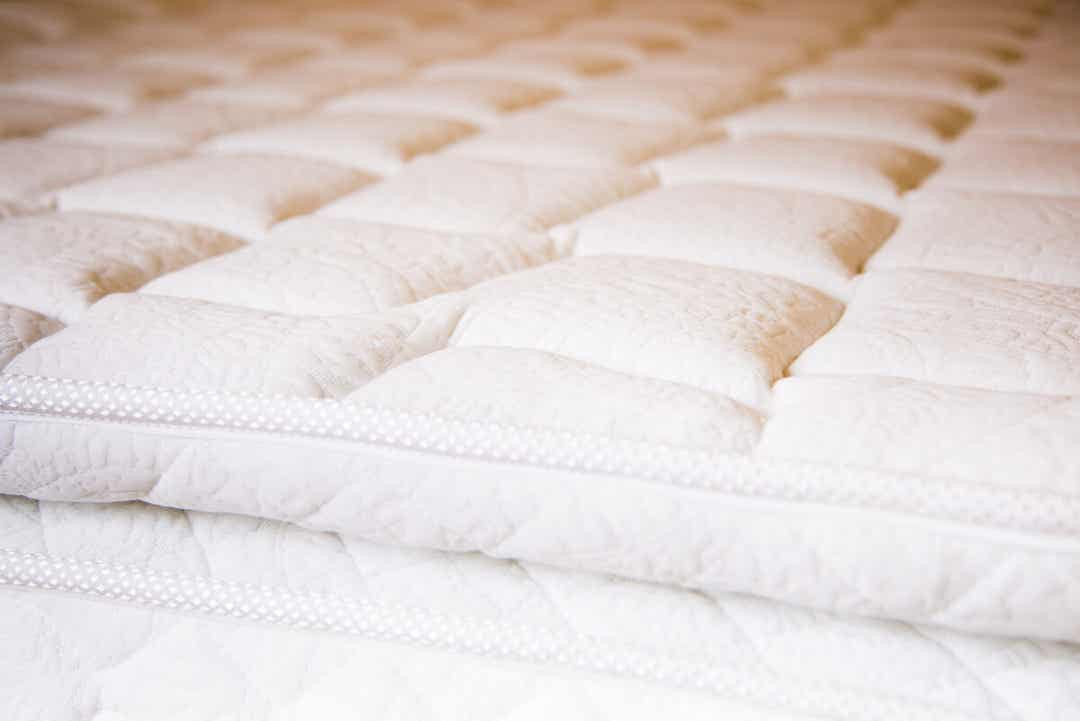 A pillow-top mattress.
