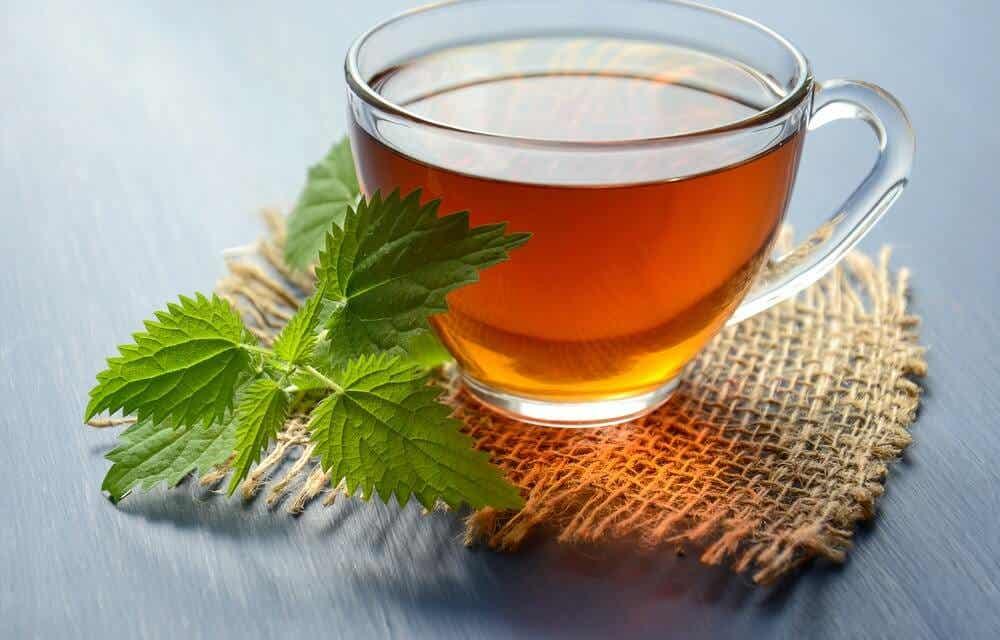 Carmine herb tea